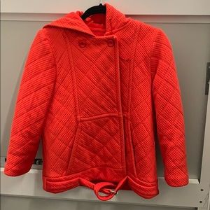 Fendi quilted hoodie jacket